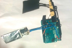 Pocket Geiger an Arduino Uno