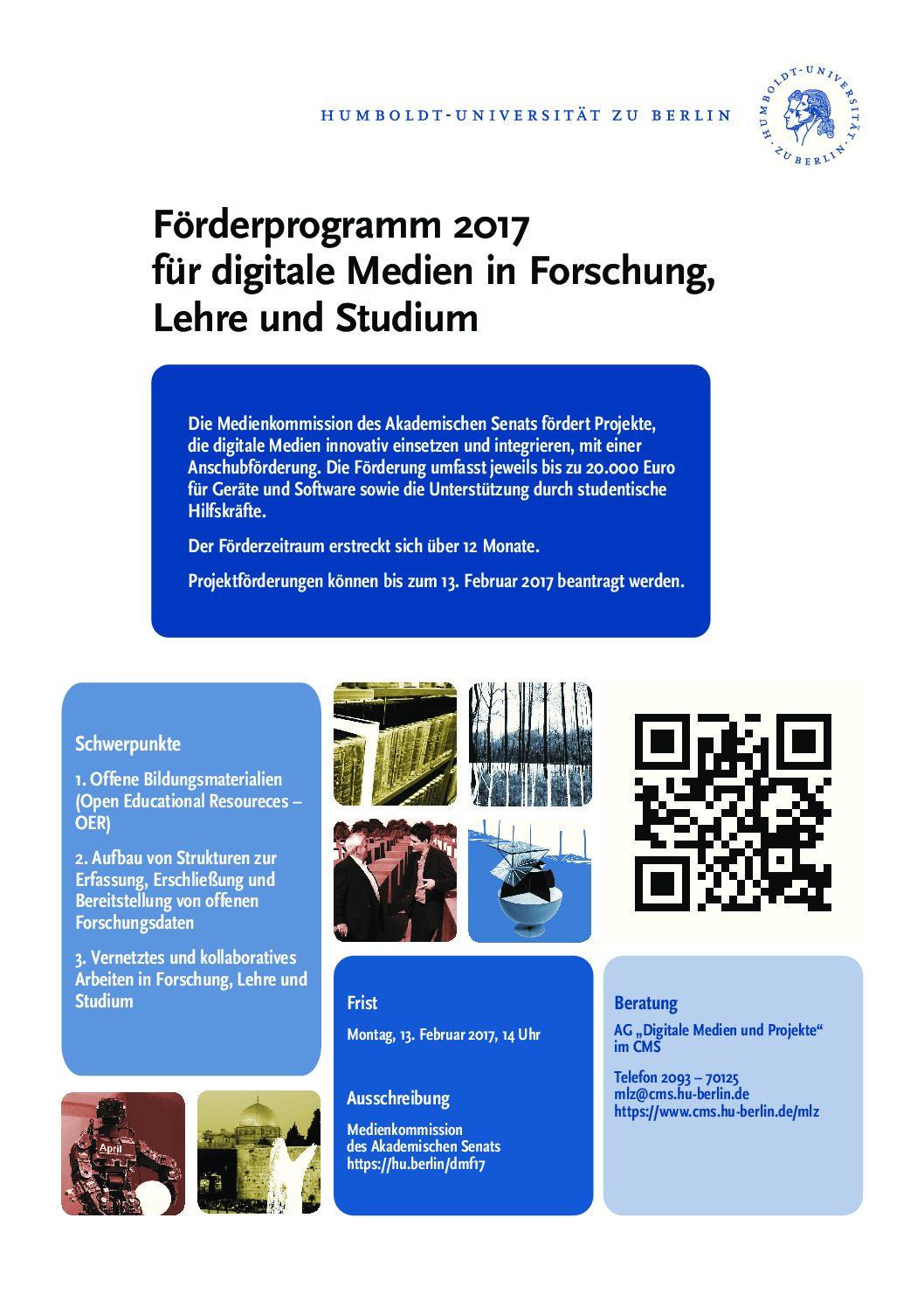 Förderprogramm DM 2017