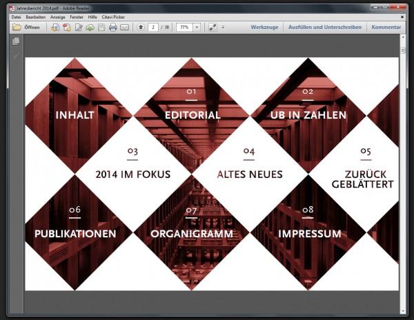 PDF Ansicht UB Jahresbericht 2014