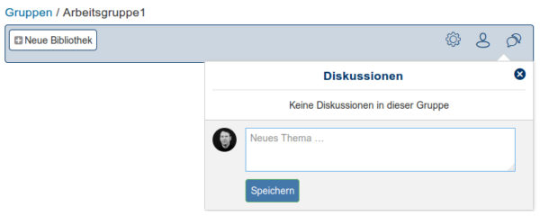 Gruppe-Diskussion