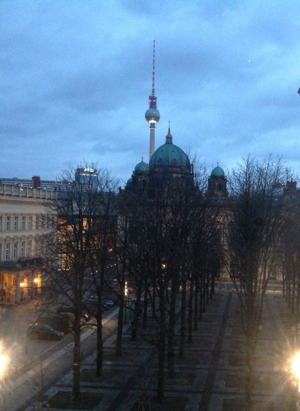 Berlin Cathedral and Televisoin Tower Dec. 2014