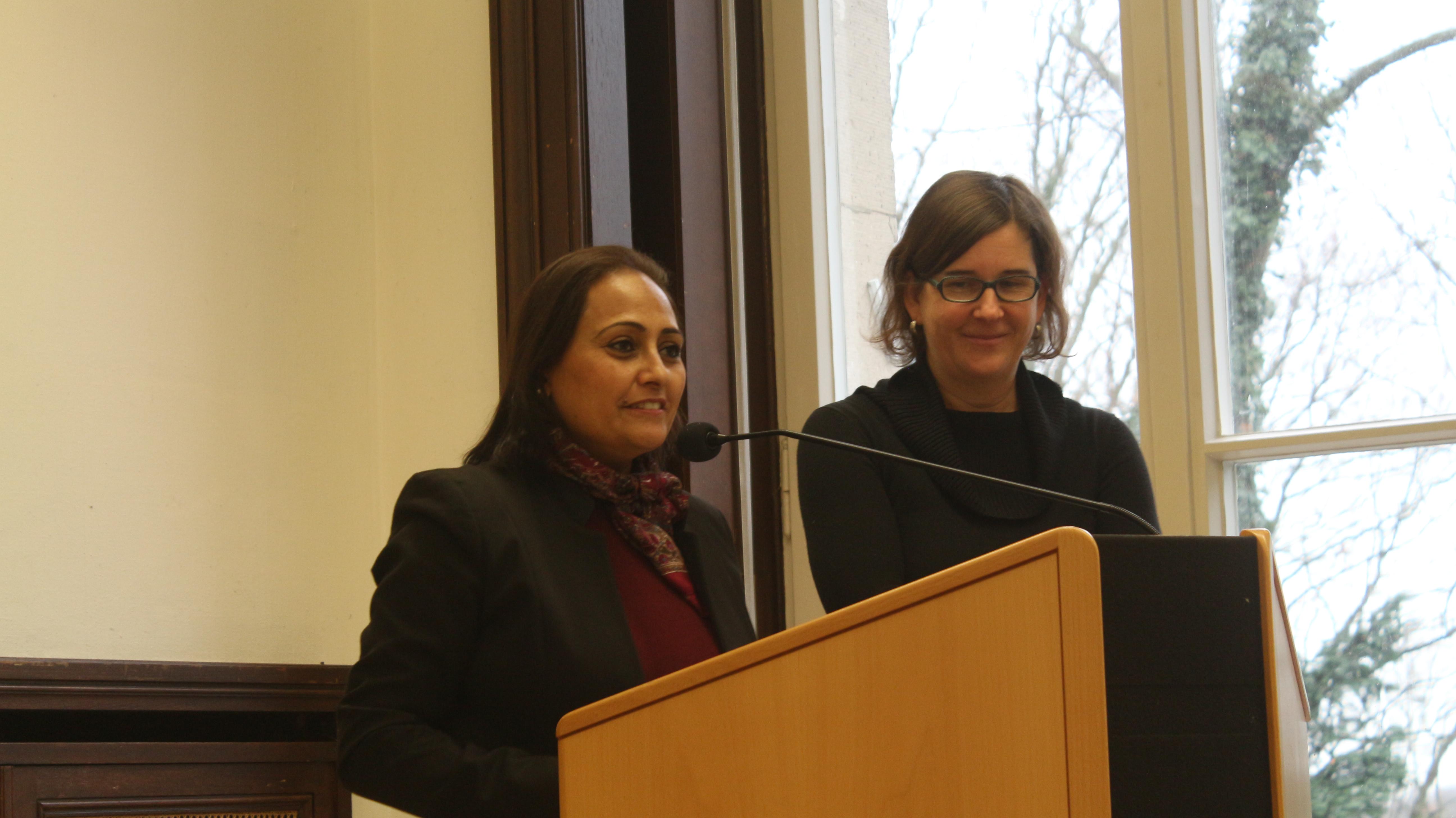 Dr. Amal El-Obeidi and Prof. Dr. Carola Richter