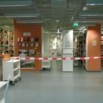 Germanistik-Bibliothek teilweise Sperrung-1